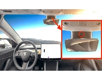 آیا می دانستید داخل خودرو تسلا مدل 3 یک دوربین از شما فیلم برداری می کند؟