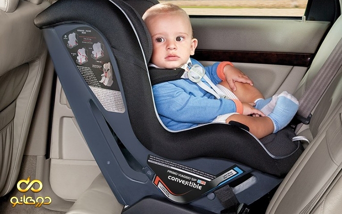 استانداردهای استفاده از صندلی کودک در خودرو