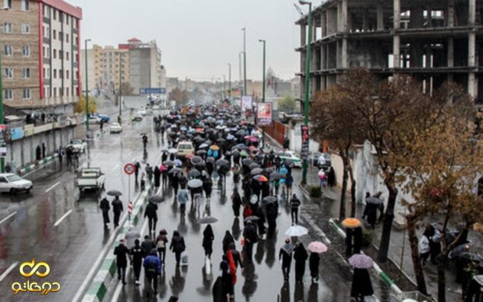 محدودیتها و ممنوعیتهای ترافیکی پیاده روی اربعین در تهران