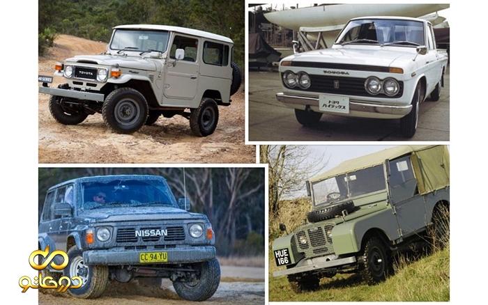 معرفی پنچ خودروی 4*4 تاثیرگذار در تاریخ صنعت اتومبیل