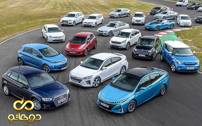 کلاسبندی انواع خودرو
