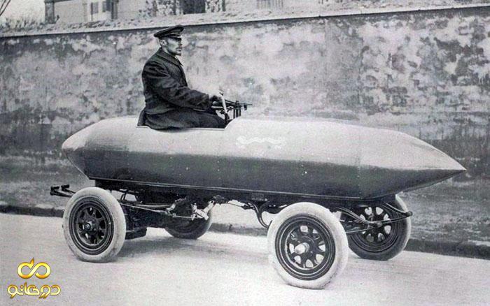 اولین خودرویی که از سرعت 100 کیلومتر فراتر رفت