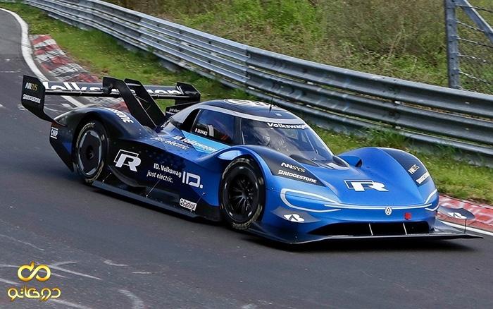 خودروی برقی مسابقه ای فولکس واگن رکورد بهره وری را شکست