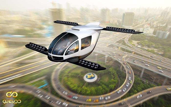 هیوندای به فکر ساخت خودروی پرنده