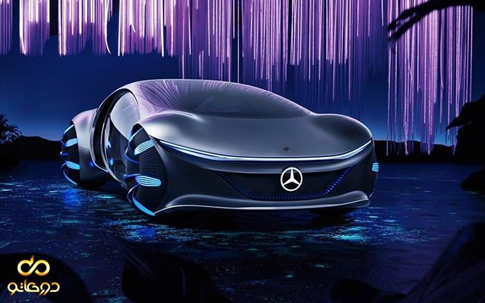 خودرو کانسپت جدید مرسدس بنز AVTR با الهام از فیلم آواتار