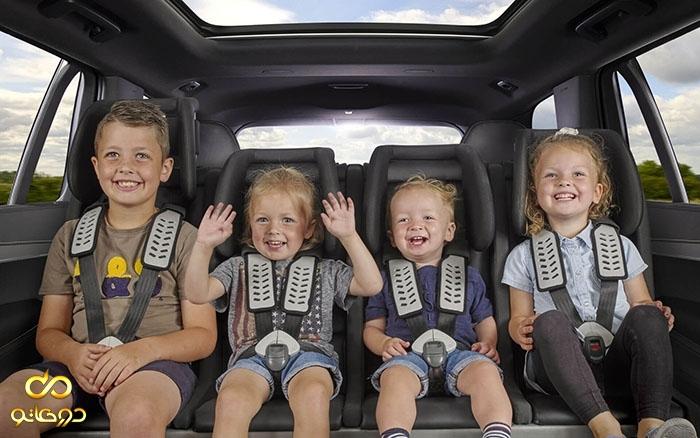 صندلی کودک ایزوفیکس و امنیت بیشتر در خودرو برای کودکان