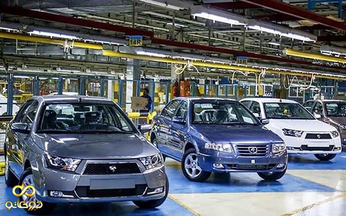 رشد 21 درصدی تولید خودرو در سال 99