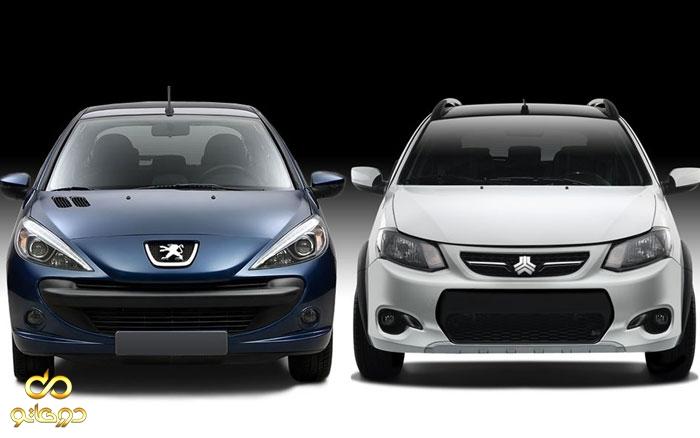 ورود خودروهای دو رنگ به بازار کشور به عنوان محصول جدید!